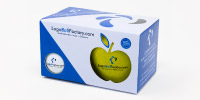 Apfelbox mit Logoball
